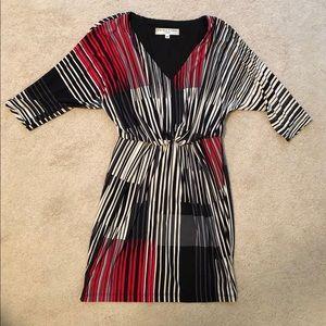 Trina Turk Quarter-Sleeve Dress
